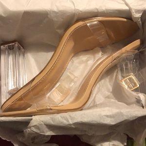 Glass Slipper  size 11. Brand Spanken New.